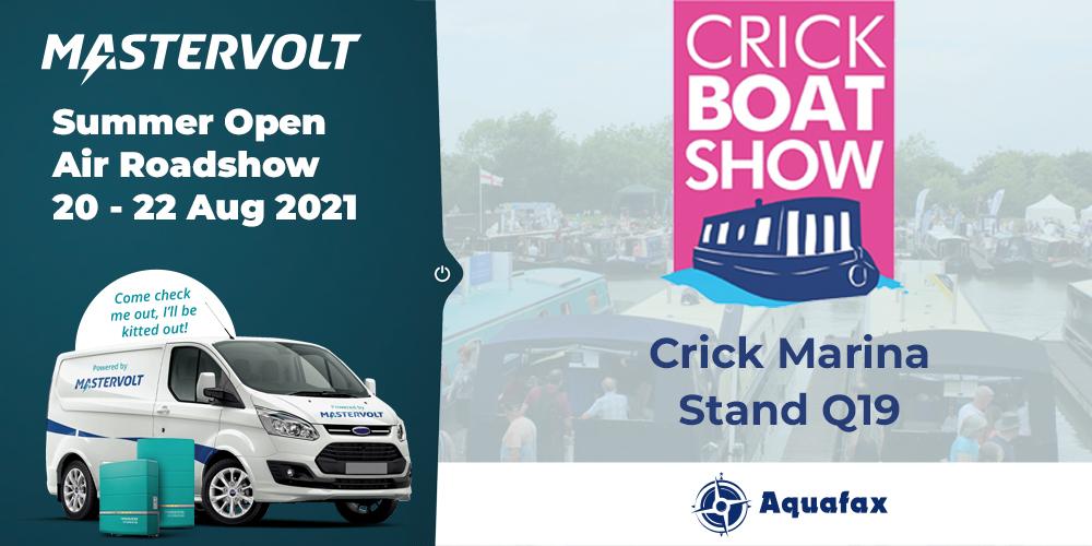 Aquafax takes the Mastervolt Roadshow to Crick Boat Show
