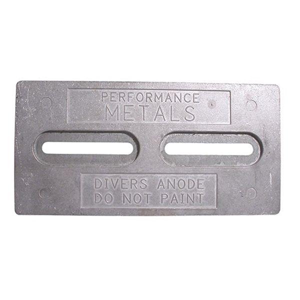 Aluminium Anode Diver 305 x 152 x 13mm