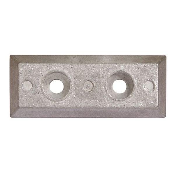 Aluminium Anode Bosler Strainer 95 x 38 x 13mm