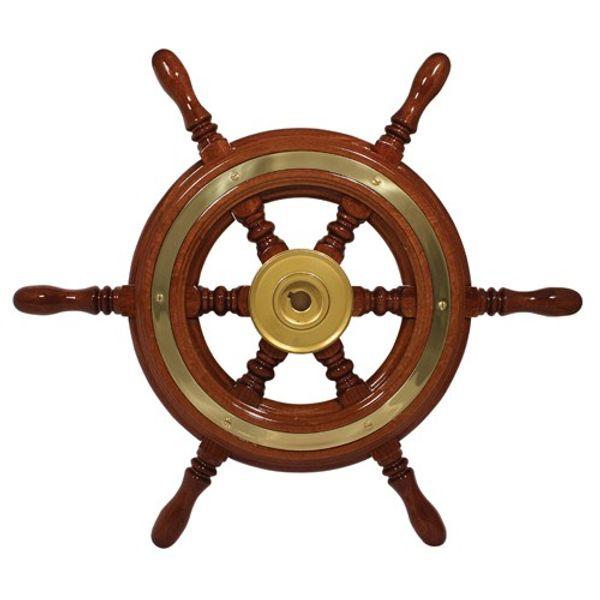 Traditional Wood Spoke Steering Wheel 60cm