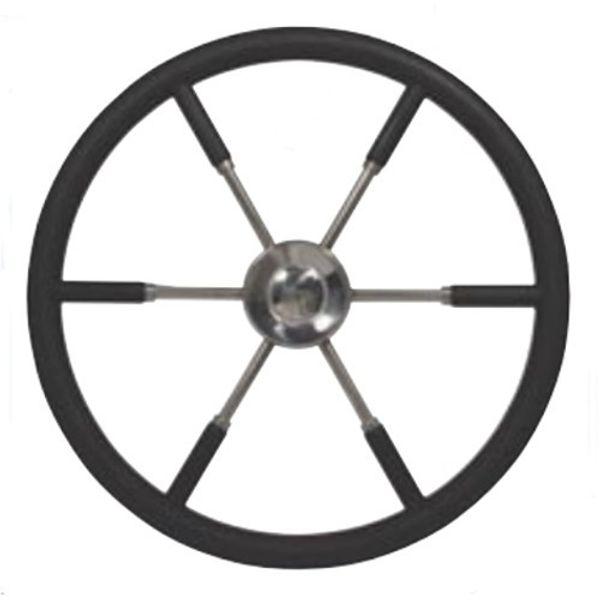 Polyurethane Rim Steering Wheel 55cm Black