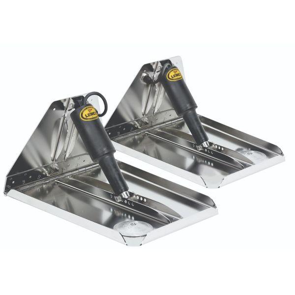 """Lenco 16"""" x 12"""" HD Performance Trim Tab Kit 12V"""