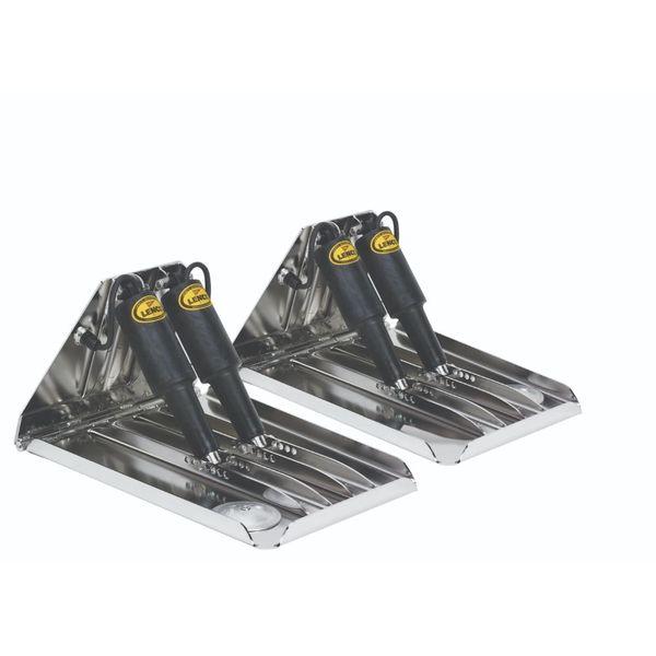 "Lenco 24"" x 14"" XD Performance Trim Tab Kit 12V Dual Actuator"