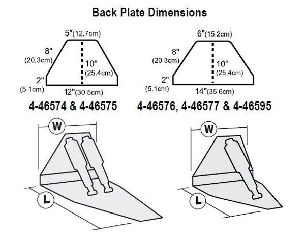 """Lenco 14"""" x 12"""" High Performance Trim Tab Kit 12V Single Actuator"""