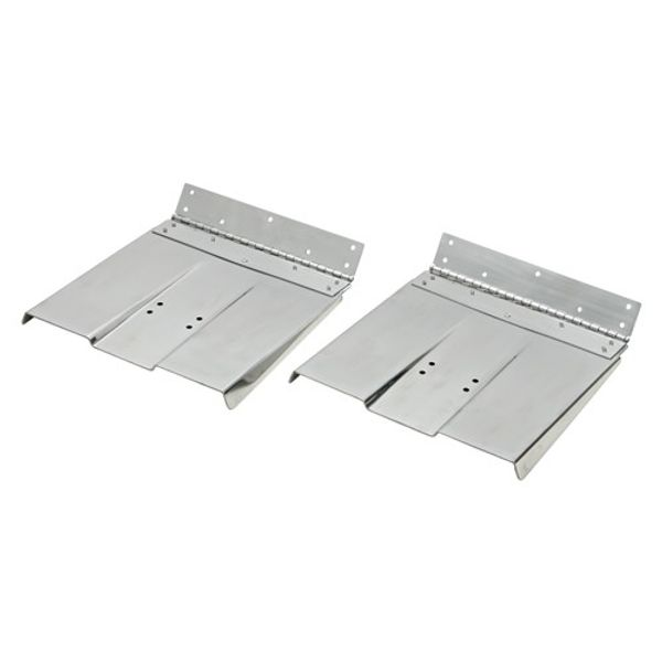 """SS Trim Tabs Only 12"""" x 9"""" (Pair)"""