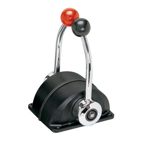 Two Lever Control Throttle and Gear Black