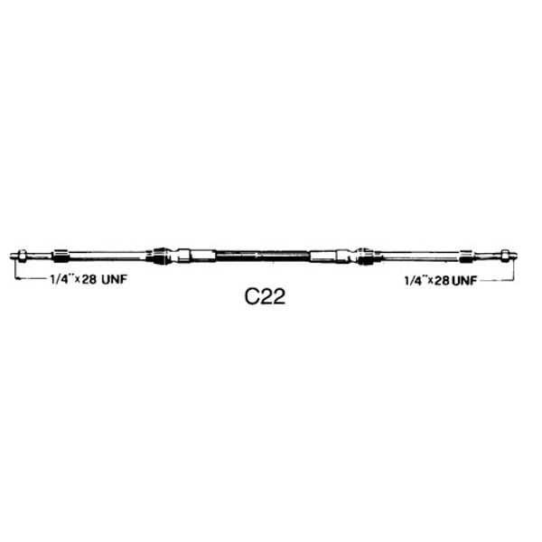 43C Control C22 Cable 20ft
