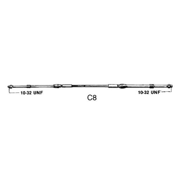 33C Control C8 Cable 8ft