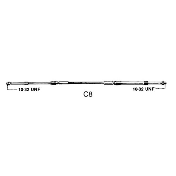 33C Control C8 Cable 14ft