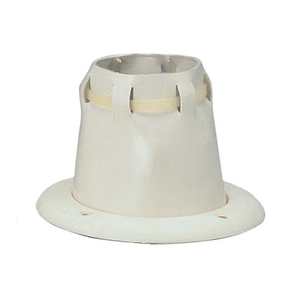 Adjustable Cable Grommet and Ring 105mm OD White