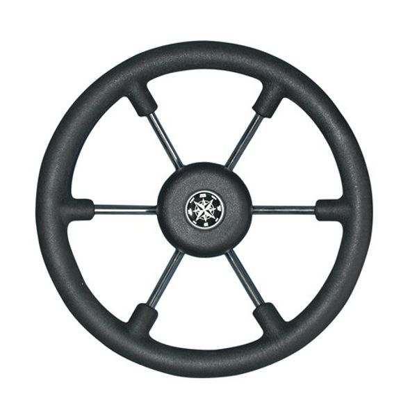 Steering Wheel Consul Black Grip 365mm