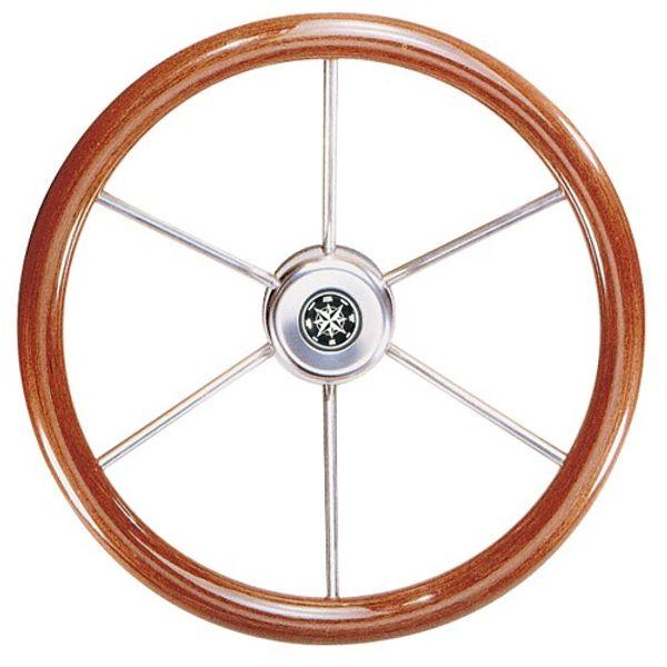 Steering Wheel Leader Mahogany 390mm