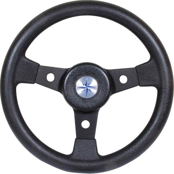 Steering Wheel Delfino Black 310mm