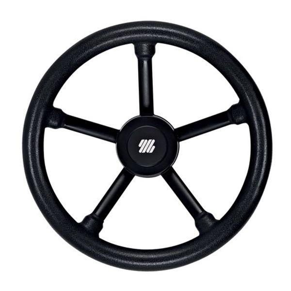 Steering Wheel Commando Black 350mm