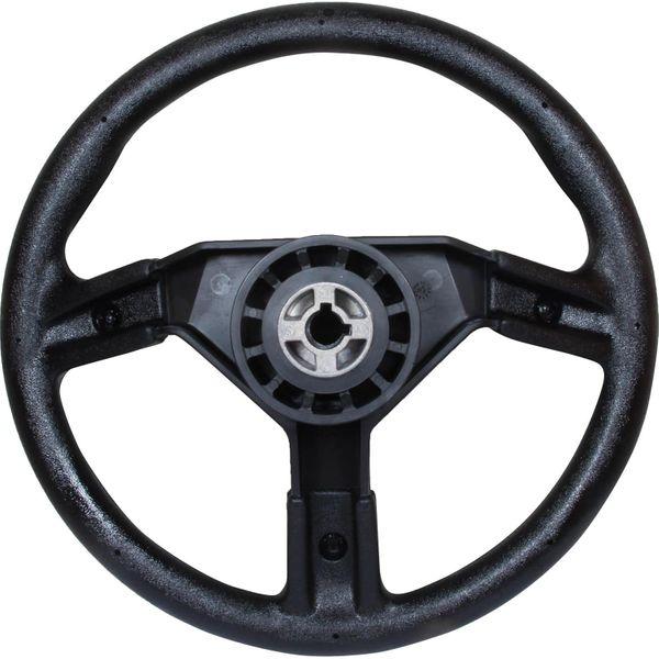 Steering Wheel Soft Grip Black 350mm