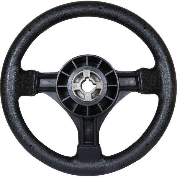 Steering Wheel Small Soft Grip Black 280mm