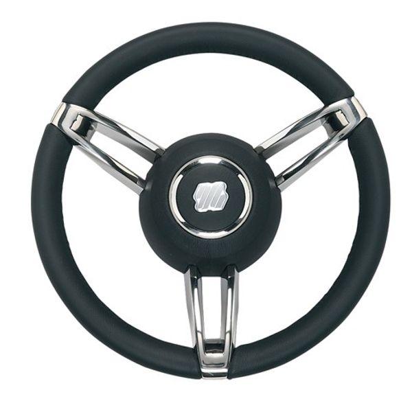 Steering Wheel Boccanegra Black Leather 350mm