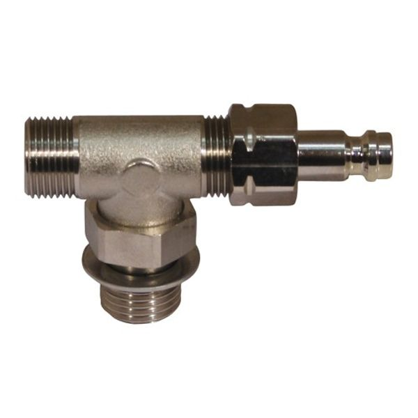 Flexible Bleed Tee for 4-48066/7/8 Hydraulic Cylinders