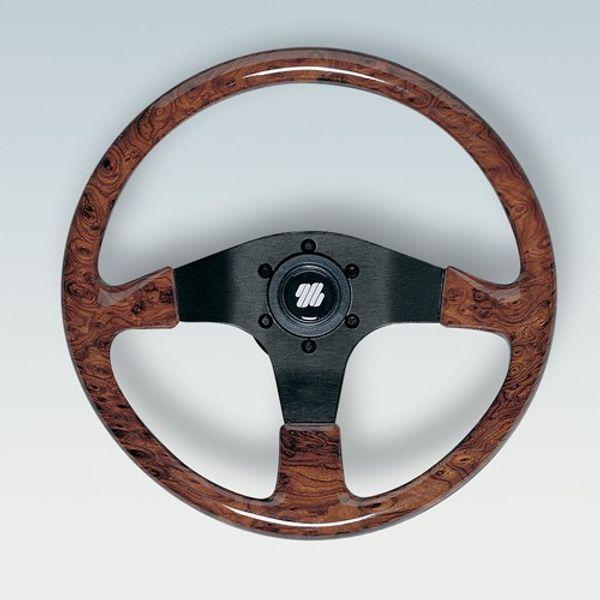 Corsica B/Spoke Wheel Briar Effect Grip