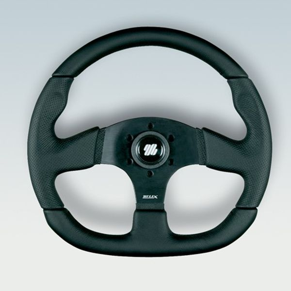 Palmaria Wheel Black Centre & Grip 350mm