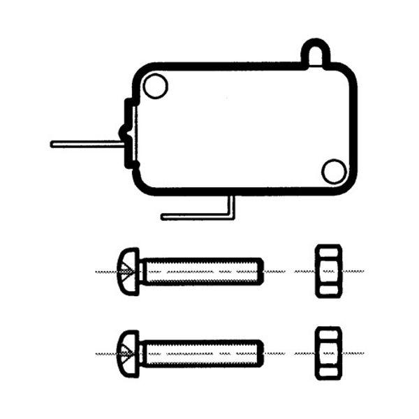 Control Neutral Safety Switch B103 & B104