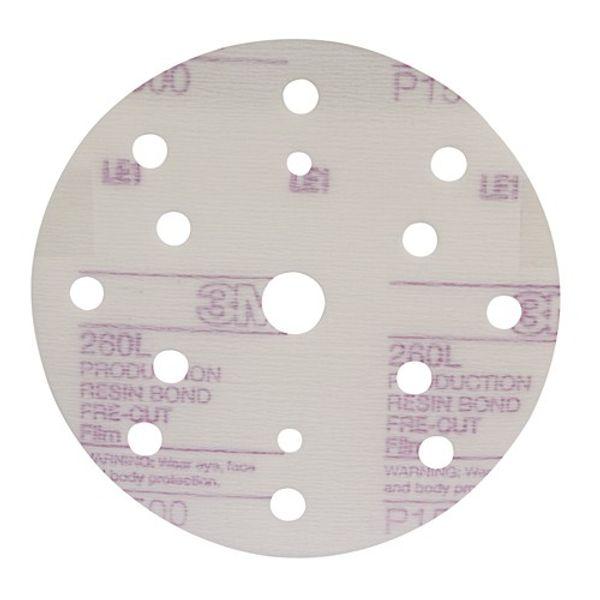 3M 260L Hookit Microfinishing Disc 150mm P1500 (50)