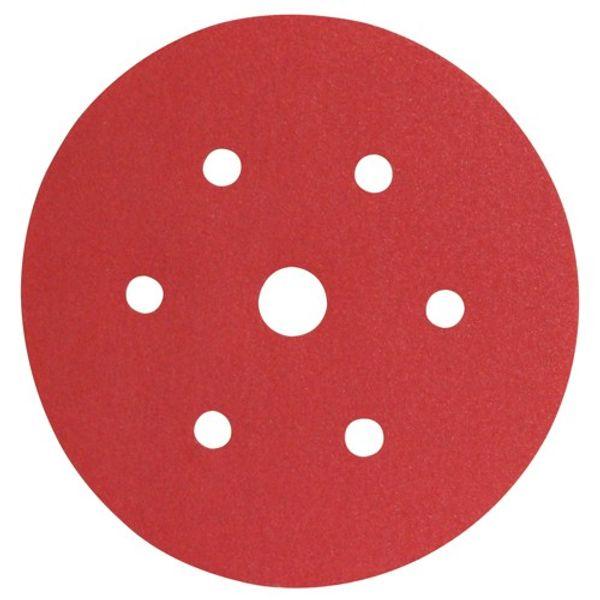 3M 316U Red Hookit Disc P150 150mm (100)