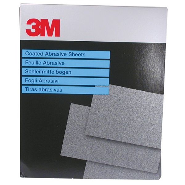 3M 734 Wetordry P120 230 x 280mm Sheet (25)