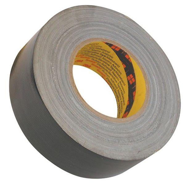 3M Waterproof Cloth Tape Black 50mm x 50m (1)