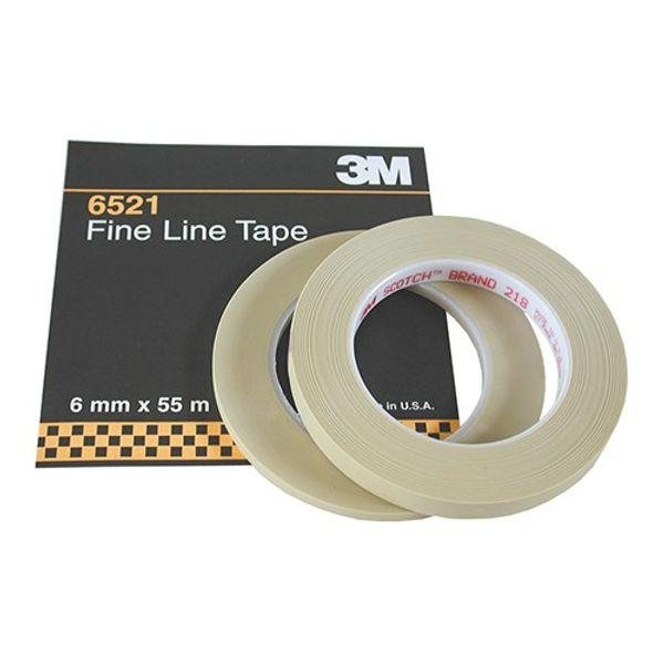 3M 218 Fine Line Tape 6mm x 55m (Roll)