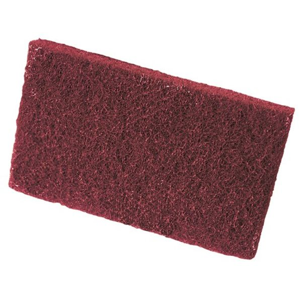 3M Finishing Pad Very Fine Red 158 x 224mm (20)