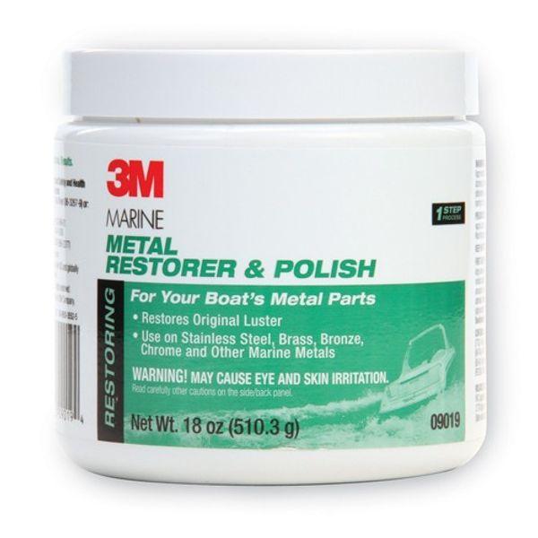 3M Metal Restorer & Polish Paste 500ml