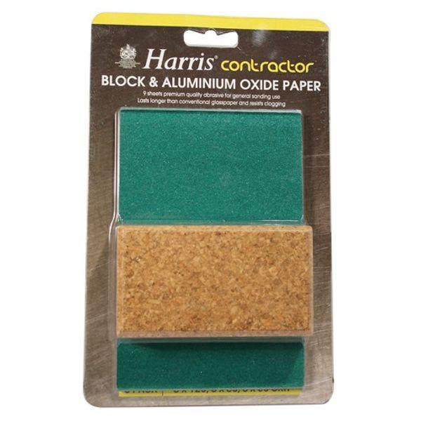 Aluminium Oxide 7 Pack Assorted + Block