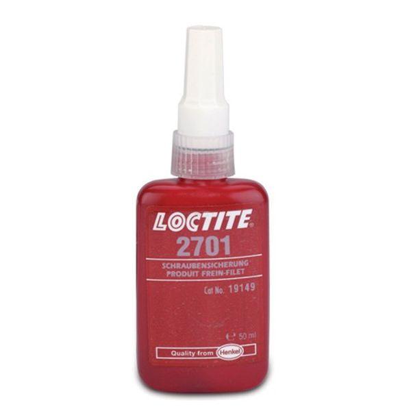 Loctite 2701 High Strength Threadlocker 50ml (Each)