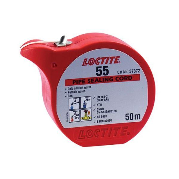 Loctite 55 Pipe Sealing Cord Pot 50m (x24)