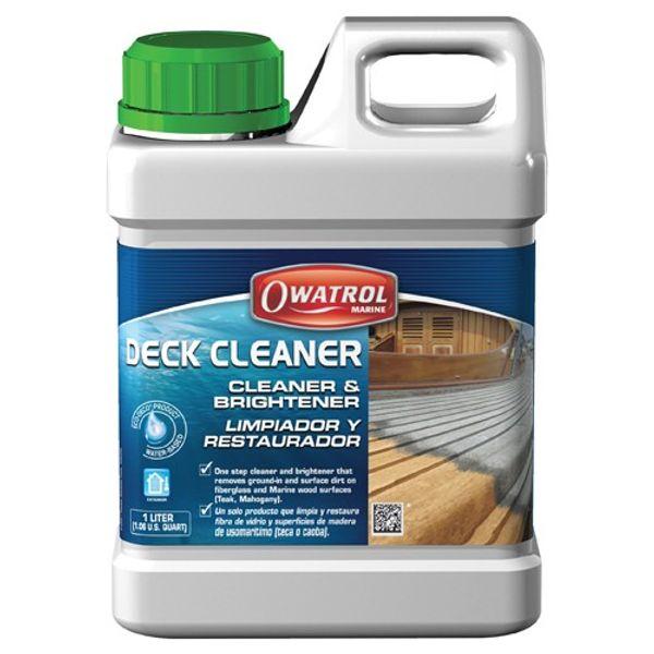 Owatrol Deck Cleaner 1.0L Ea