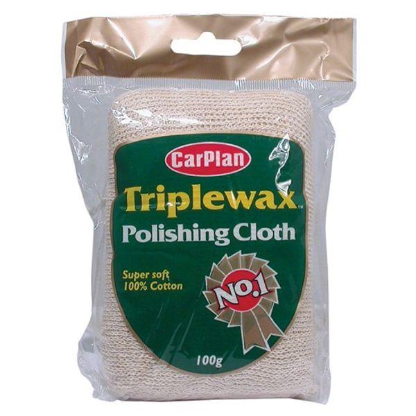 Triplewax 100% Cotton Polish Cloth 100g (12)