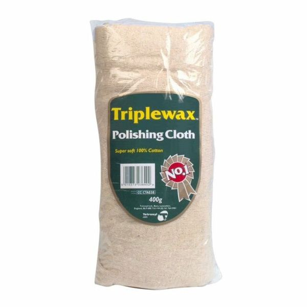 Triplewax 100% Cotton Polish Cloth 400g (12)