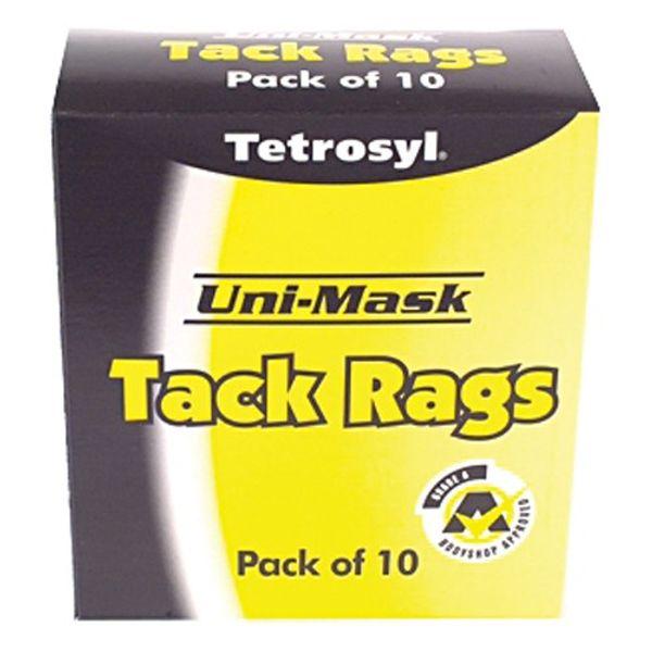 Uni Mask Tack Rags 10/Box Pk 20