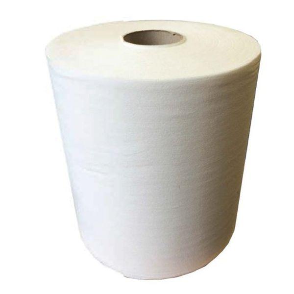 Tufwipe White 26 x 40cm x 158m Roll (Case x 2 Rolls)
