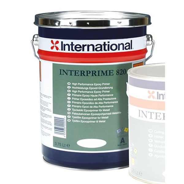 International Interprime Base 820Hb White 3.75L