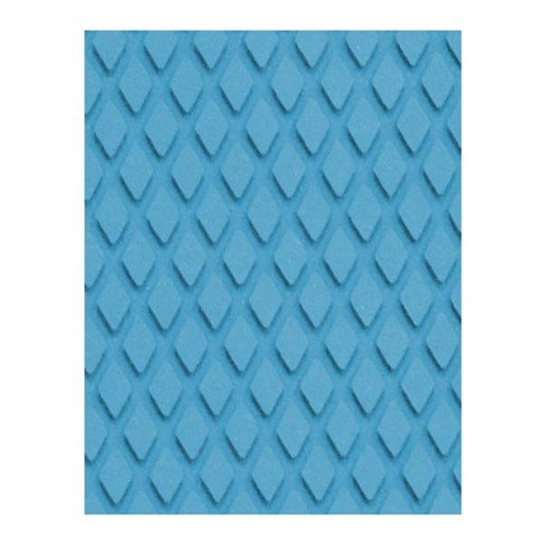 Treadmaster Diamond Pad 412 x 203mm Blue