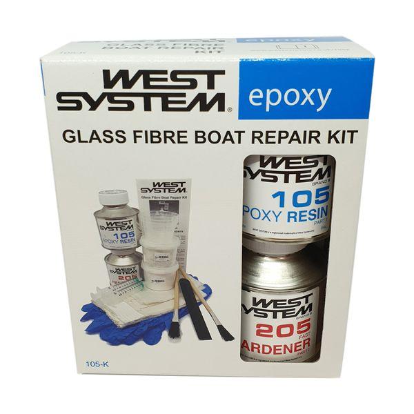 West System 105-K Fibreglass Repair Kit