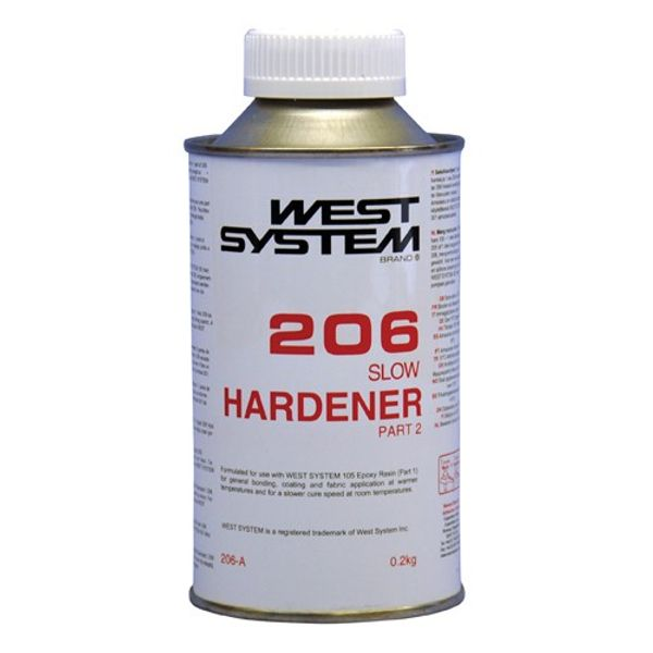 West System 206B Slow Hardener 1kg