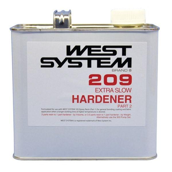 West System 209B 1.45kg Extra Slow Hardener