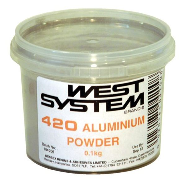 West System 420 Aluminium Powder 0.1kg