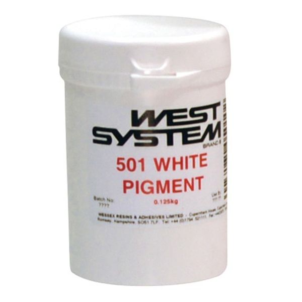 West System 501 Colour Additive White 125G