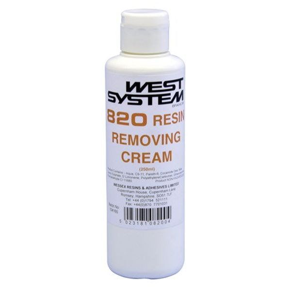 West System 820 250ml Resin Removing Cream