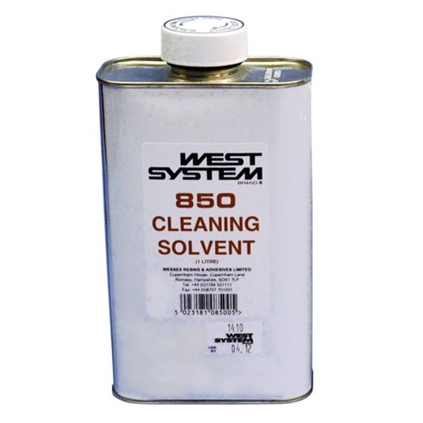 West System 850 Cleaning Solvent 1L
