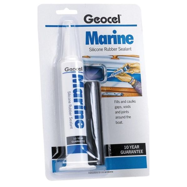 Geocel Marine Silicone Clear 78G Each
